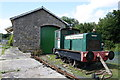 SE0189 : Horse dock and goods shed at Aysgarth Station by Roger Templeman