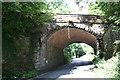 SE0188 : Railway bridge near Aysgarth Station (Wensleydale Railway) by Roger Templeman