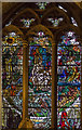 "TQ9017 : ""Land"" stained glass window, St Thomas' church, Winchelsea by Julian P Guffogg"