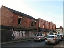 SJ9398 : Derelict buildings on Stamford Street Central, Ashton under Lyne by Gerald England