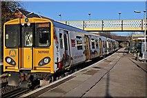 SJ3595 : Merseyrail Class 507, 507002, Walton railway station by El Pollock