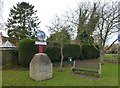 TF1606 : Village sign in Peakirk by Richard Humphrey