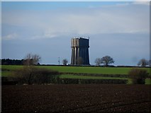 TL1435 : Water tower near Stondon by Bikeboy