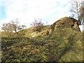 NY9075 : Gunnerton Burn lime kiln (2) by Mike Quinn