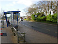 SK3235 : Royal Derby Hospital bus stop by Stephen McKay