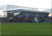SK5803 : The Caterpillar Stand viewed from Nelson Mandela Park by Mat Fascione