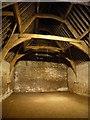 ST9168 : Lacock - inside the Tithe Barn by Rob Farrow