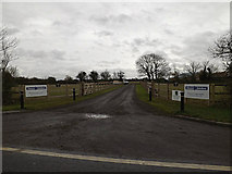 TL2657 : Entrance to Leycourt Farm by Adrian Cable