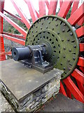 SC4384 : Axle of the Lady Evelyn waterwheel by Richard Hoare