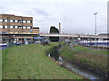 SK5538 : Crossing the River Leen by Alan Murray-Rust