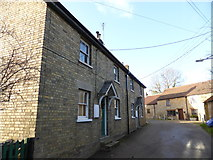 TF0117 : Cottages in Church Lane by Bob Harvey