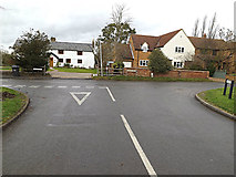 TL2656 : Fox Street, Great Gransden by Adrian Cable