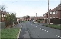 SE1321 : Thornton Road - Highfield Road by Betty Longbottom