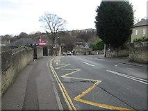 SE1321 : Ogden Lane - viewed from Church Street by Betty Longbottom