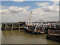 TQ6475 : Survey boat at Tilbury by Stephen Craven
