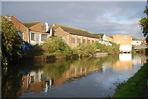TQ1883 : Factory by the Grand Union Canal by N Chadwick