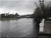 NY7063 : River South Tyne and Haltwhistle Tyne Bridge by Les Hull