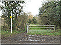 TL2655 : Footpath to Great Gransden by Adrian Cable