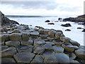 C9444 : Hexagonal shaped rocks, Giant's Causeway by Kenneth  Allen