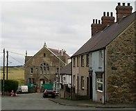 SH3568 : Aberffraw village centre by nick macneill