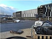 SJ8097 : Construction of New ITV Centre, Trafford Wharf by David Dixon