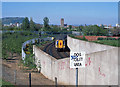 J3273 : Train on Blythefield Curve - 1999 by The Carlisle Kid