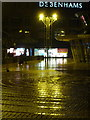 SZ0891 : Bournemouth: The Square on Christmas night by Chris Downer