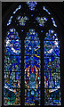 TQ9017 : Air and Fire window, Winchelsea church by Julian P Guffogg