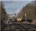 SE5319 : Approaching Cow Lane level crossing by Alan Murray-Rust