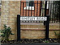 TL3259 : Whitley Road sign by Adrian Cable