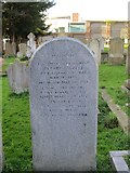 TQ2804 : Headstone for Sir George Everest by The Saunterer