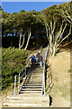SZ2092 : Steps from the beach by David Lally