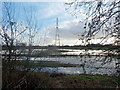 ST2883 : Waterlogged fields near Maerdy Farm on the Wentloog Level by Jaggery