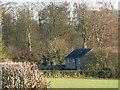 SK9128 : House near Home Farm, Stoke Rochford Park by Christine Johnstone