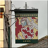 SJ8993 : Sign of the Houldsworth Arms by Gerald England