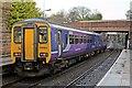 SJ4993 : Northern Rail Class 156, 156483, Thatto Heath railway station by El Pollock