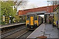SJ4892 : Northern Rail Class 150, 150277, Eccleston Park railway station by El Pollock