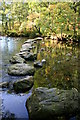 SD2296 : Stepping stones, River Duddon by Andy Deacon