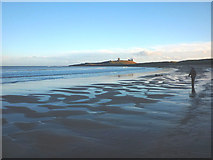 NU2422 : On the beach, Embleton Bay by Karl and Ali