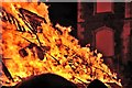 NT0437 : Biggar Bonfire, Hogmanay 2013 by Jim Barton