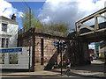 SP3265 : L&NWR bridge abutment, High Street, Leamington by Robin Stott