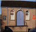 NH7054 : Avoch Gospel Hall, entrance by Richard Dorrell