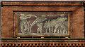 TQ3582 : Mosaic panel, Museum of Childhood by Julian Osley