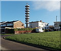 ST6176 : Communications tower viewed from Haydon Gardens, Bristol by Jaggery