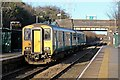 SJ2788 : Arriva Trains Wales Class 150, 150231, Upton railway station by El Pollock