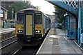 SJ3165 : Arriva Trains Wales Class 150, 150231, Hawarden railway station by El Pollock