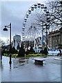 SD7109 : Victoria Square, Bolton Wheel by David Dixon
