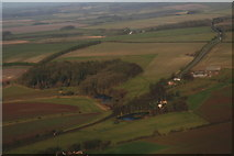 TF2880 : Cawkwell Hill: aerial 2014 by Chris
