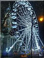 SD7109 : Ferris Wheel and Town Hall, Bolton by David Dixon