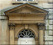 ST7564 : Detail of 4 Abbey Street, Bath by Stephen Richards